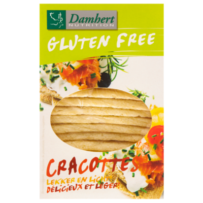 Damhert Glutenvrije cracottes