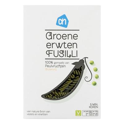 Huismerk Groene erwten fusilli