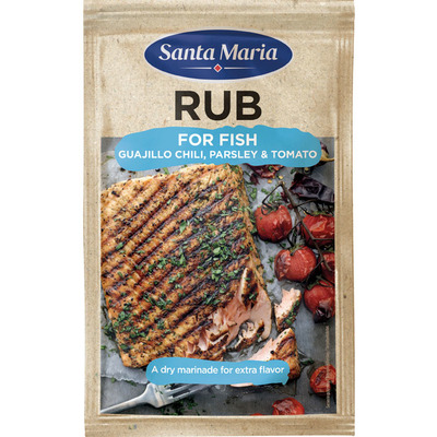 Santa Maria BBQ & grill rub for fish