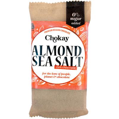 Chokay Dark almond sea salt