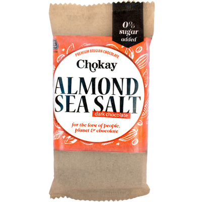 Chokay Dark almond sea salt