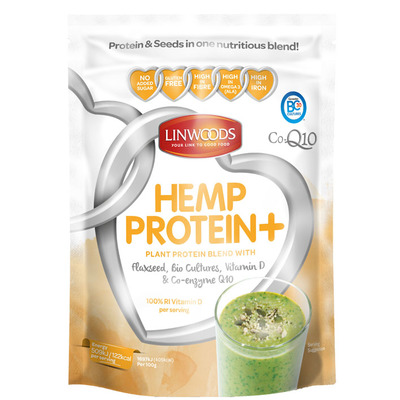 Linwoods Hemp protein+  co-enzyme powder