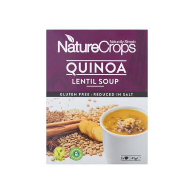 NatureCrops Quinoa Lentil Soup