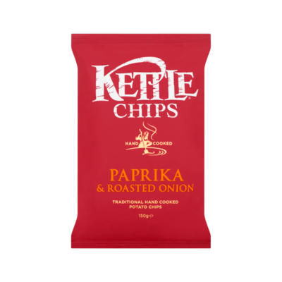 Kettle Chips Paprika & Roasted Onion