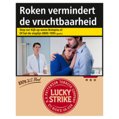 Lucky Strike US BL RED XL