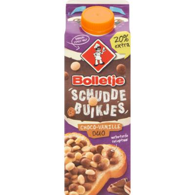 Bolletje Schuddebuikjes choco-vanille duo