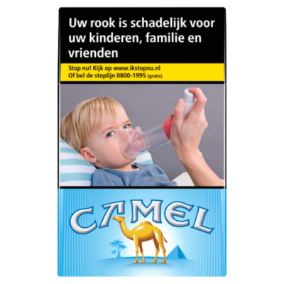 Camel Sigaretten blue box