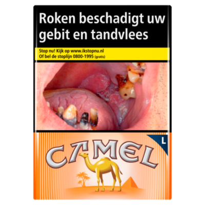Camel Sigaretten orange