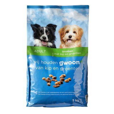 Huismerk Hondenbrokken Met Kip En Groenten