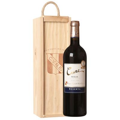 Cune Rioja Reserva geschenkverpakking