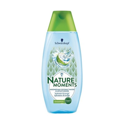 Nature Moments shampoo Indonesian cocnut & lotus flower