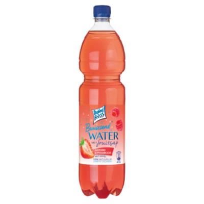 Dubbelfrisss Water aardbei & framboos