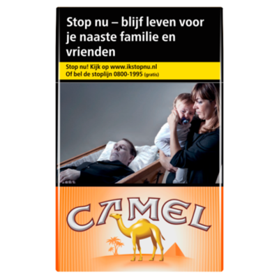 Camel Sigaretten orange box