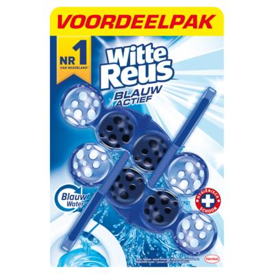 Witte Reus Toiletblok actief blauw 2 stuks