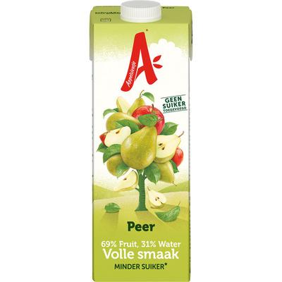 Appelsientje Peer minder fruitsuiker