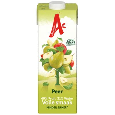 Appelsientje Peer minder fruit fruitsuiker