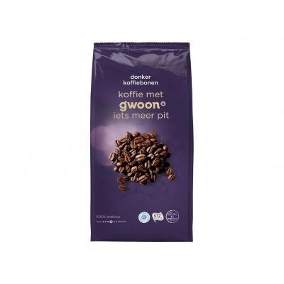 Huismerk Koffiebonen dark roast