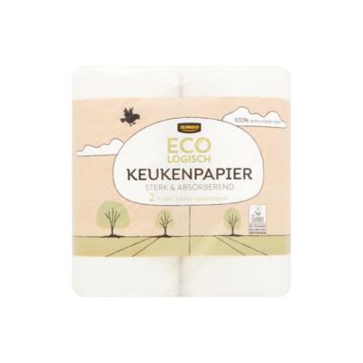 Huismerk Ecologisch Keukenpapier Sterk & Absorberend 3 Laags