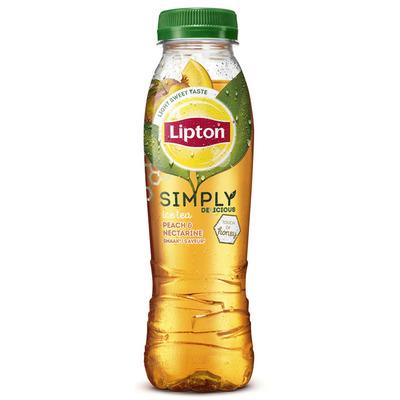 Lipton Ice simply honey peach nectarine