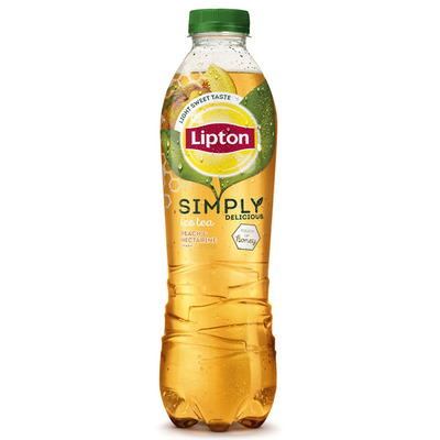 Lipton Ice tea simply honey peach nectarine