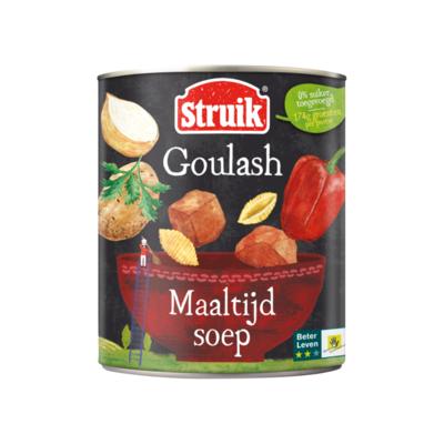 Struik Goulash Maaltijdsoep