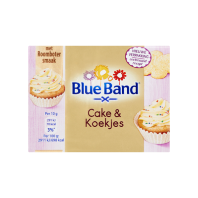 Blue Band Cake & Koekjes met Roomboter Smaak