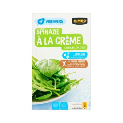 Huismerk Spinazie à la Crème Deelblokjes Vriesvers