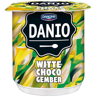 Danone Danio special witte choco gember