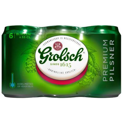 Grolsch Pils Blik 6 X 33 Cl