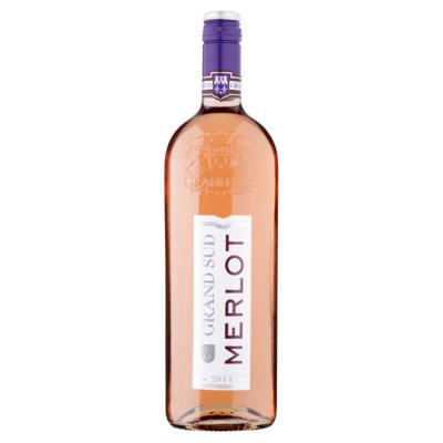 Grand Sud Merlot Rose Wine 1 Liter
