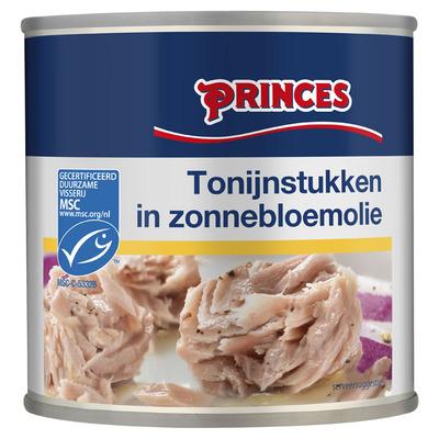 Princes Tonijn stukken in olie MSC