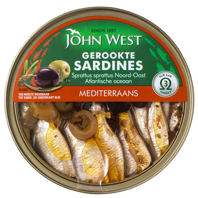 John West Petit sardines Mediterraans
