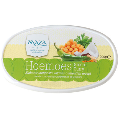 Maza Hoemoes green curry