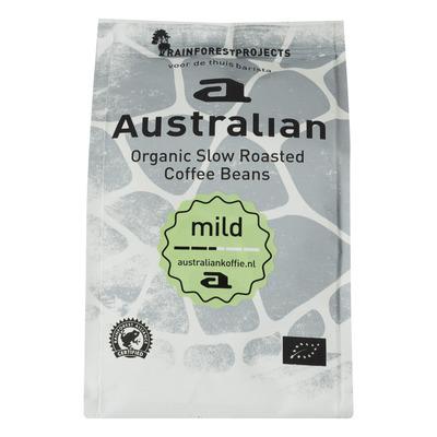 Australian Coffee beans mild biologisch