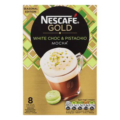 Nescafé White choc & pistachio mocha