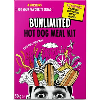 Bunlimited Hot dog mealkit