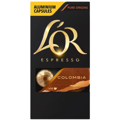 L'Or Cups single origin Colombia