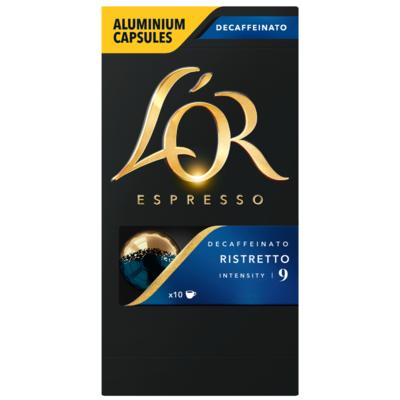 L'Or Espresso cups ristretto decaffeinato