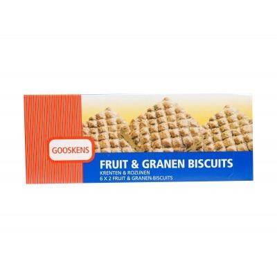 Gooskens Fruit & granen biscuits