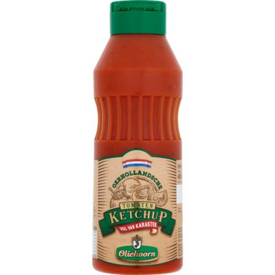 Oliehoorn Oerhollandse tomaten ketchup