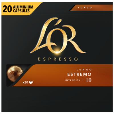 L'Or Espresso cups lungo estremo