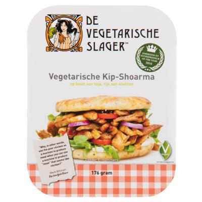 De Vegetarische Slager Vegetarische kipshoarma