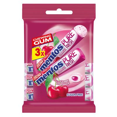 Mentos Gum Cherry rol
