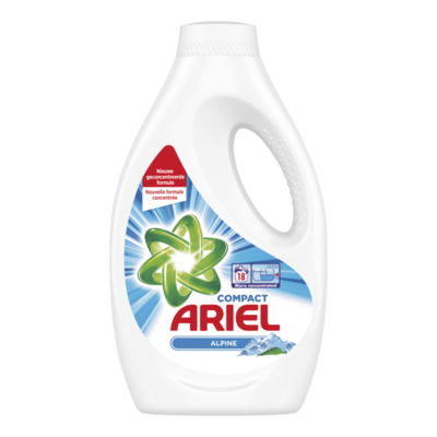 Ariel Alpine Vloeibaar Wasmiddel 0,99L, 18 Wasbeurten