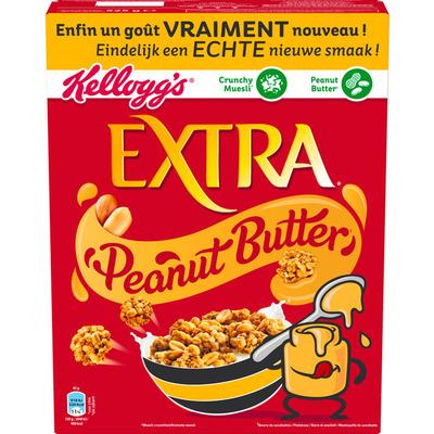 Kellogg's Extra peanut butter