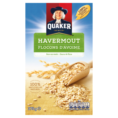 Quaker Granen Havermout 375g