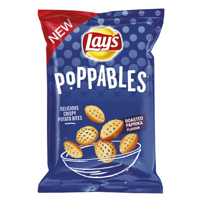 Lay's Poppables roasted paprika