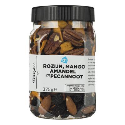 Huismerk Verrijker rozijn-mango-amandel en pecan