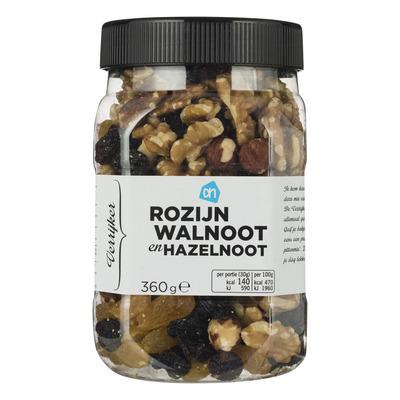 Huismerk Verrijker rozijn-walnoot en hazelnoot