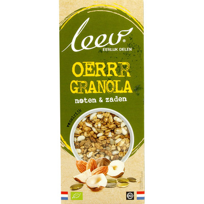 Leev Bio granola noten zaden